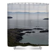 Calm Sea Shower Curtain