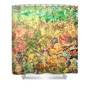 Calmness Within Shower Curtain