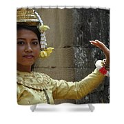 Cambodian Dancer Shower Curtain