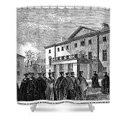 Cambridge University, 1862 Shower Curtain