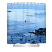 Camden Harbor Shower Curtain