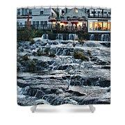 Camden Maine Waterfalls Shower Curtain