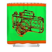 Camera 1c Shower Curtain
