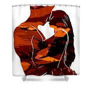 Camouflage Lovers Shower Curtain