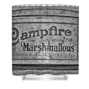 Campfire Marshmallows Shower Curtain