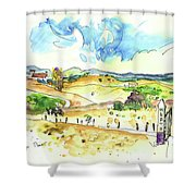 Campo Maior In Portugal 01 Shower Curtain