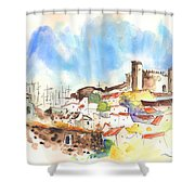 Campo Maior In Portugal 02 Shower Curtain