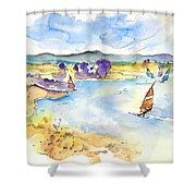 Campo Maior In Portugal 04 Shower Curtain