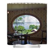 Campobello Island Roosevelts House Shower Curtain