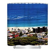 Camps Bay Beach Shower Curtain