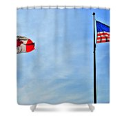Can Usa Shower Curtain