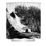 Canada: Alaska Highway Shower Curtain