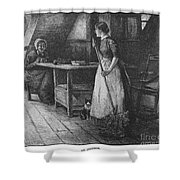 Canada: Daily Life, 1883 Shower Curtain