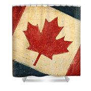 Canada Flag Shower Curtain