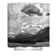 Canadian Rockies 12951 Shower Curtain