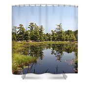 Canadian Wetland Shower Curtain