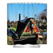 Canal Crib Shower Curtain