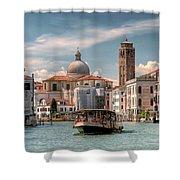 Canal Grande. Venezia Shower Curtain