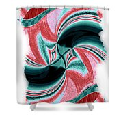 Candid Color 16 Shower Curtain