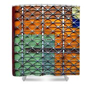 Candy Cage Shower Curtain