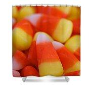 Candy Corn Shower Curtain