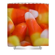 Candy Corn One Shower Curtain