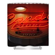 Candy Shower Curtain by Skip Willits