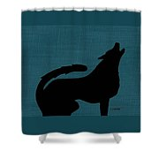 Canine  Shower Curtain