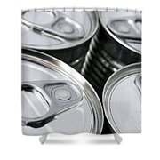 Canned Food Shower Curtain
