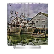 Cannery Hdr Shower Curtain