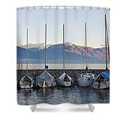 Cannobio - Italy Shower Curtain