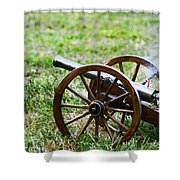 Cannon Fire Shower Curtain