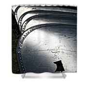 Canoe Row Shower Curtain