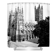 Canterbury Cathedral - England - C 1902 Shower Curtain