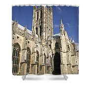 Canterbury Cathedral, Exterior Shower Curtain