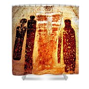 Canyon Ghosts Shower Curtain