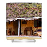 Southwest Canyon Hacienda Shower Curtain
