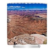 Canyon In Canyonlands Shower Curtain