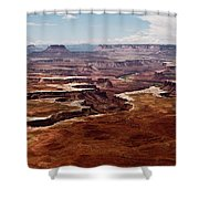 Canyon Lands Shower Curtain