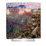 Canyon View X Shower Curtain