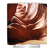 Canyon Waves Shower Curtain