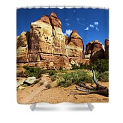 Canyonlands Chesler Park Shower Curtain