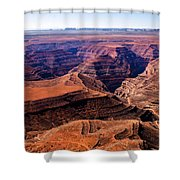 Canyonlands II Shower Curtain by Robert Bales