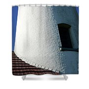 Cape Blanco Detail Shower Curtain