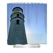 Cape Blanco Light 2 Shower Curtain