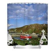 Cape Clear Island, Co Cork, Ireland Shower Curtain