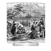 Cape Cod: Pilgrims Shower Curtain