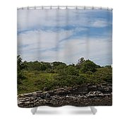 Cape Elizabeth Two Lights Cape Elizabeth Maine Shower Curtain