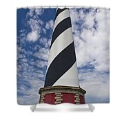 Cape Hatteras From Below Shower Curtain