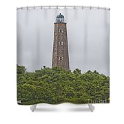 Cape Henry Light - Old Shower Curtain